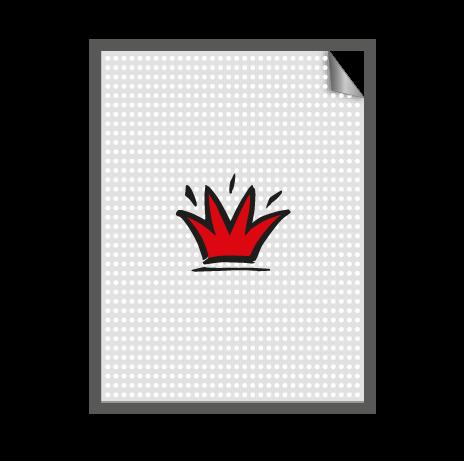 Aufkleber Fensterlochfolie - mit KFZ Zulassung