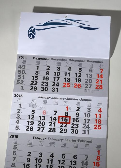 3-Monatskalender für das Folgejahr | Werbe-Werkstatt Beate ...