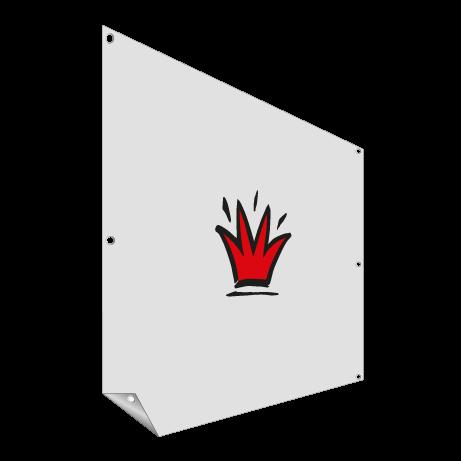 Fahnenstoff Banner