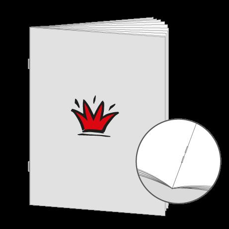 Broschüren Drahtheftung DIN A4 Kleinauflage