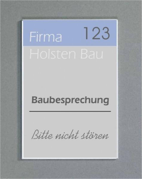 Wandschild | System Karlsruhe | 59,4 cm x 15 cm