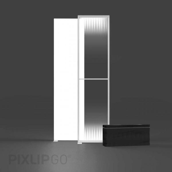 PIXLIP GO | Lightbox 85 cm x 250 cm indoor | einseitig