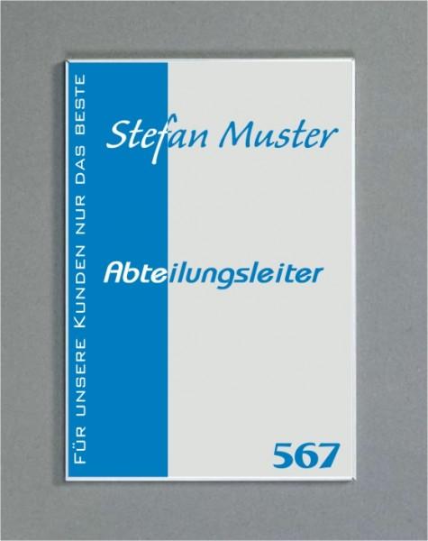 Wandschild   System Karlsruhe   DIN A5 hoch