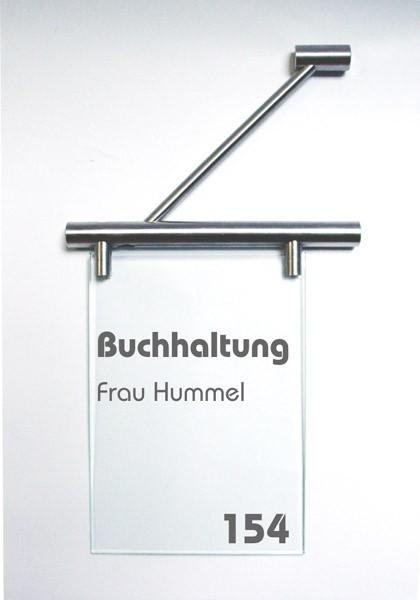 Fahnenschild   System Seeshaupt   21 cm x 21 cm