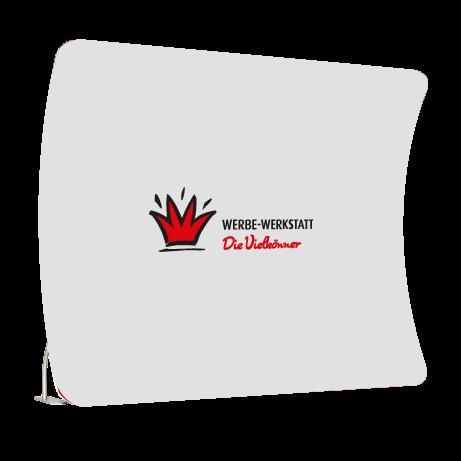 Messewand - Textilwand Premium vertikal gebogen